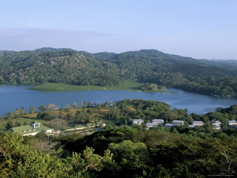 River Chagres and Gamboa Rainforest Resort, Soberania Forest National Park, Panama, Central America