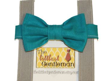 Turquoise Mint Aqua Seafoam Teal Bow Tie by TheLittlestGentleman