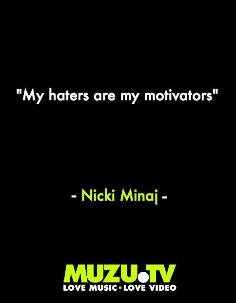 Nicki Minaj on the key to her success. #music #quotes #inspirational Click to watch Nicki Minaj music videos http://www.muzu.tv/nickiminaj/