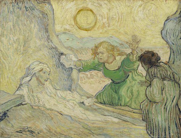 The Raising of Lazarus (after Rembrandt), 1890, Vincent van Gogh, Van Gogh Museum, Amsterdam (Vincent van Gogh Foundation)
