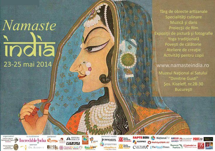 Festivalul culturii indiene NAMASTE, 23 - 25 mai