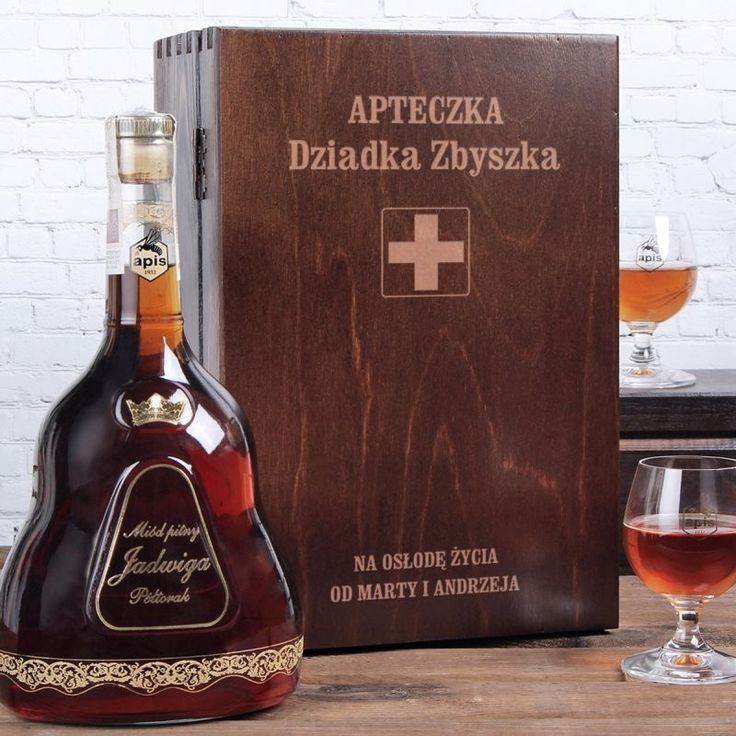 Personalizowany miód pitny APTECZKA
