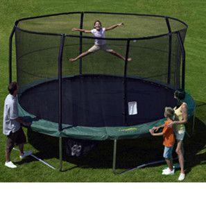 15' Trampoline Enclosure Net for 5 Poles