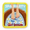Girl Scout Shop - Spa Party Fun Sew-On Patch
