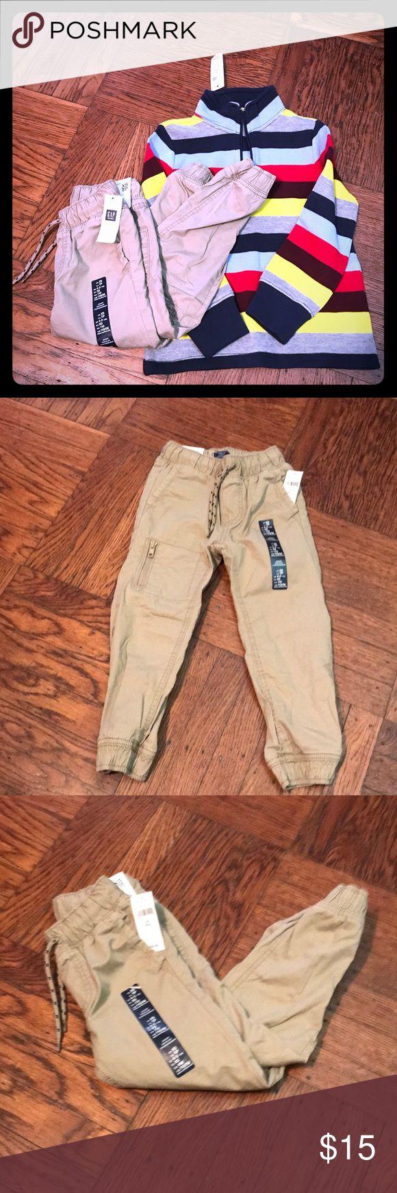 Gap kids khaki jogger pants, Sz XS NWT jogger pants, super versatile and comfy, great with anything! GAP Bottoms Casual