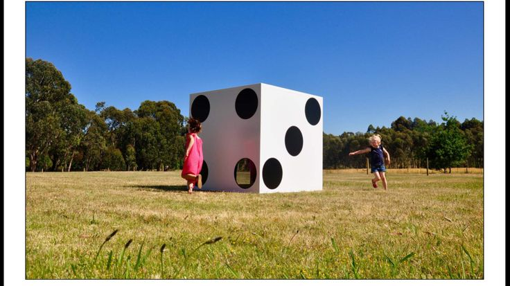 Architectural white dice Cubed Cubby by Malvern Windows.