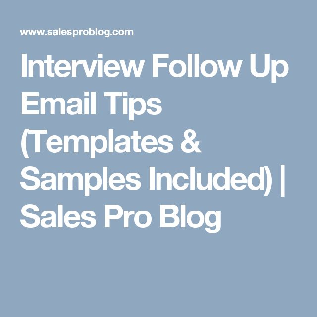25+ unique Interview follow up email ideas on Pinterest Landing - sample follow up email after interview