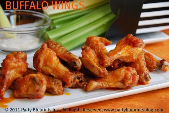 Quarter Pounder Slam-Dunk Sliders and Buffalo Chicken Wings – Friday Night Bites | PartyBluPrints.com
