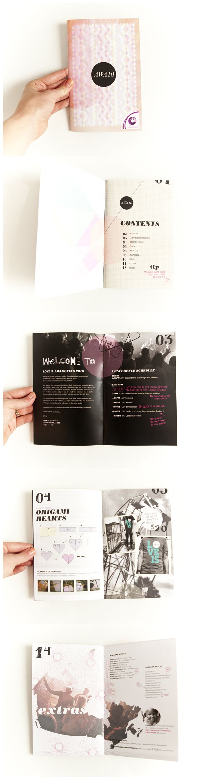 "Awakening ""AWA:10"" brochure by Alyssa Yuhas"