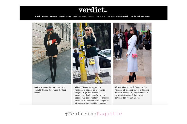 Featured on Verdict.ro due to Alina Vlad spotted in Raquette at Milan Fashion Week #Furla #maisonraquette #milanfashionweek