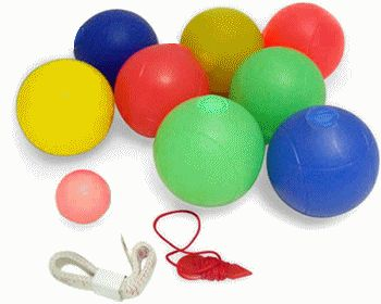 Lighted Bocce Ball Sets : LED Bocce Ball Sets : Night Bocce Balls -