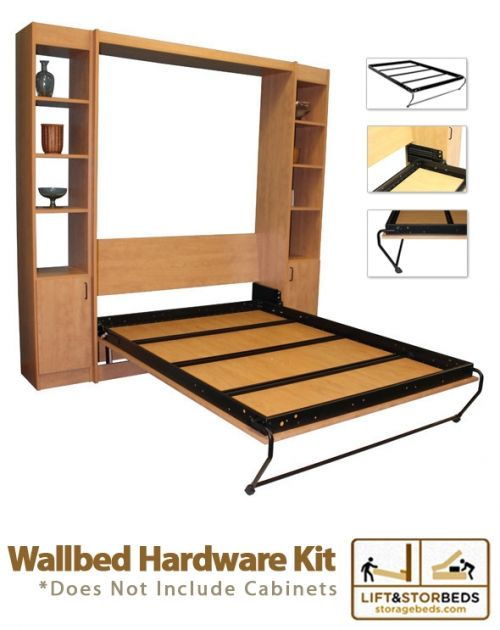 38 best images about do it yourself wall beds and storage for Do it yourself wall