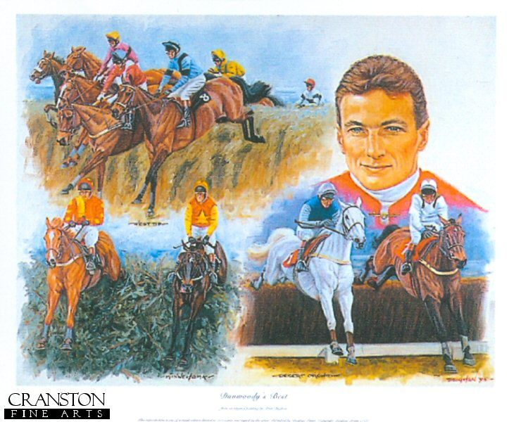 Dunwoodys Best by Peter Deighan: West Tip, in the 86 Grand National, Desert Orchid in the 87 King George and Miinnehoma in the 94 National.