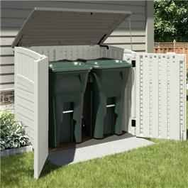 The BillyOh Suncast Kensington Six Model is a multi purpose shed that is great for storing garden accessories such as wheelie bins, garden furniture or toys. The multi-storage shed is produced using blow mould technology which helps create double padded external walls and is recommended to be put on some form of foundation to secure the unit and keep your grass healthy.