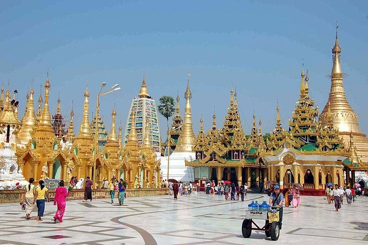 Myanmar, Rangun, Shwedagon Pagode