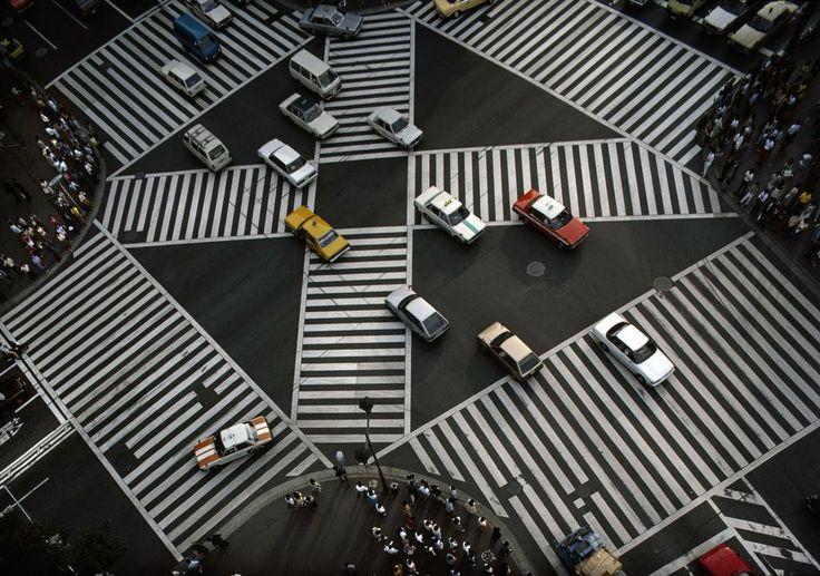 Downtown Tokyo, 1985 Bruno Barbey