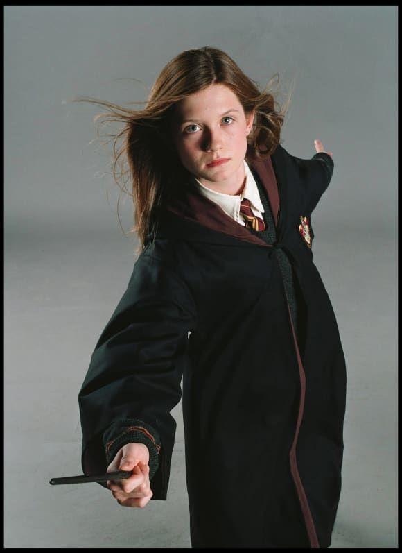 Harry Potter Die Stars Heute Und Damals Ginny Weasley Harry Potter Anime Bonnie Wright