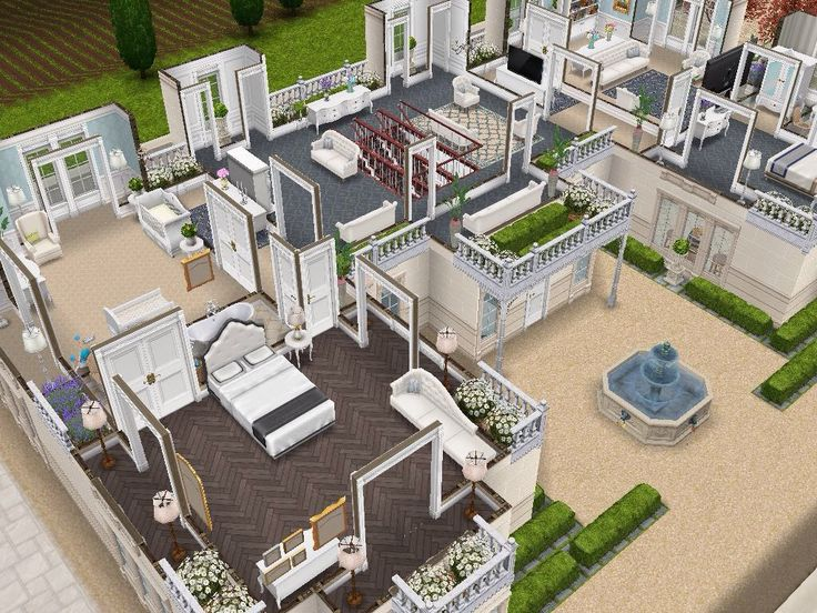 House 111 level 2 #sims #simsfreeplay #simshousedesign