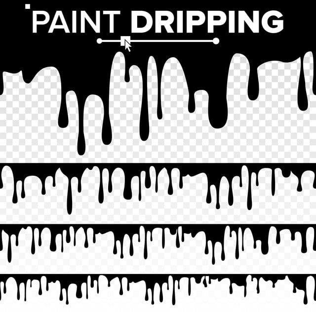 Paint Dripping Liquid Vector Abstract Current Paint Stains Chocolate Syrup Leaking Isolated Illustration Leak Leaking Melt Png And Vector With Transparent Ba Drip Painting Chocolate Syrup Dripping