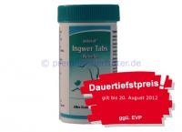 astoral Ingwer Tabs | Dose 30 Tabletten gegen Reisekrankheit und Übelkeit bei Hunden