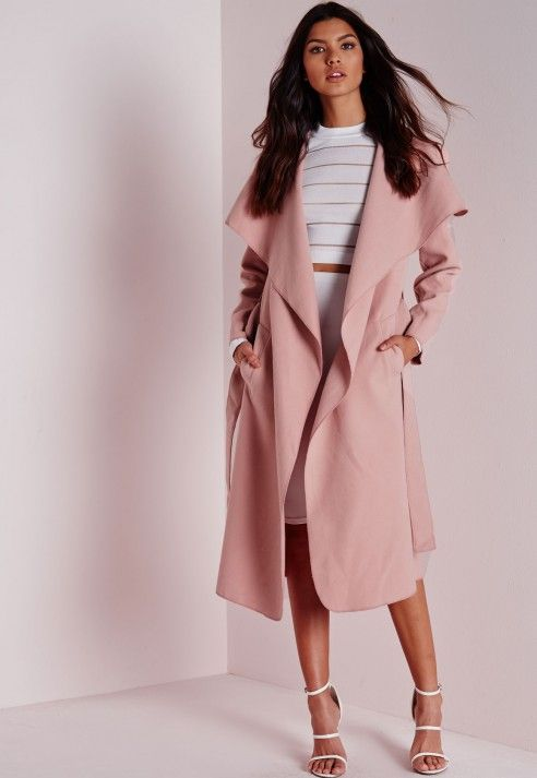 Pink Duster Coat £30