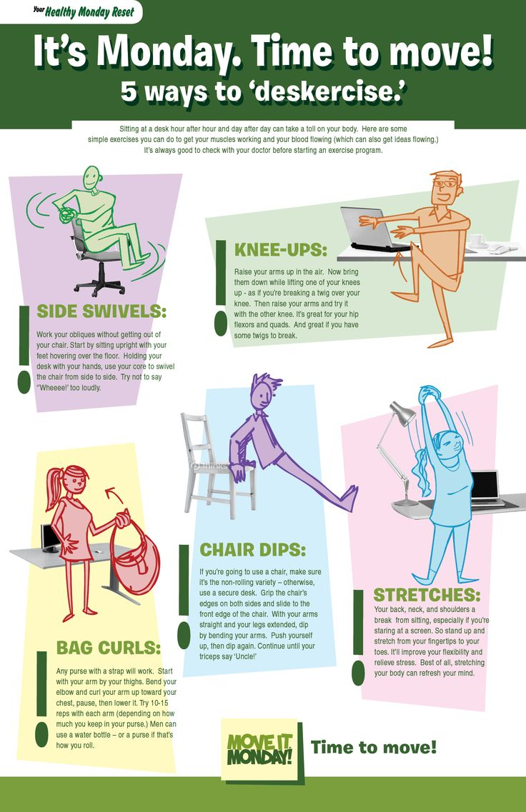 Check out these great ways to get physically active at ...