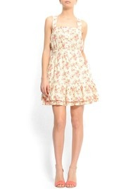 Ready for Spring and this dress will be perfect for a bright sunny day.