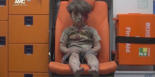 L'histoire de la photo d'Omrane, l'enfant syrien symbole de la guerre