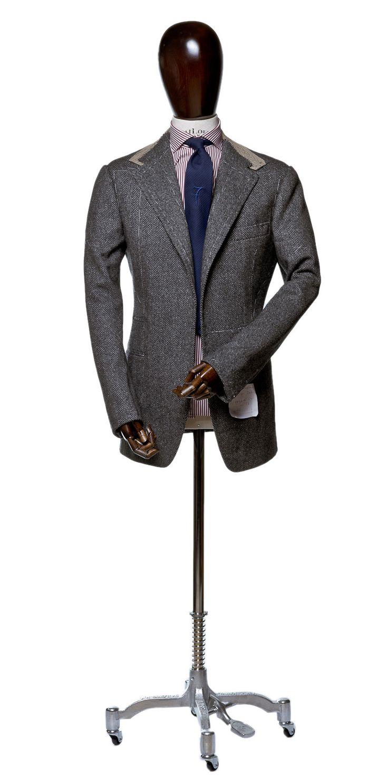 Fitting @ Zaremba Bespoke fabric: Drapers tie: Al Bazar Bespoke shirt: Fiorenzo D'avino Napoli
