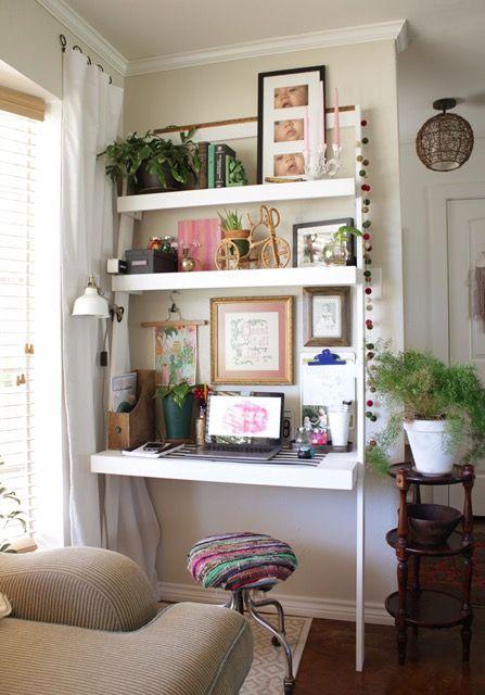 Ana White leaning ladder desk plans