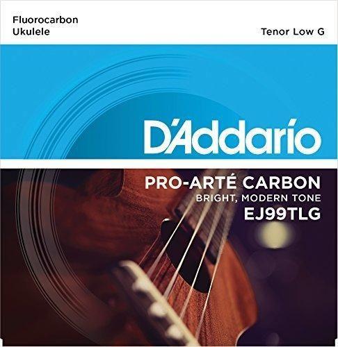 D'Addario EJ99TLG Pro-Arté Carbon Ukulele Strings Tenor Low G