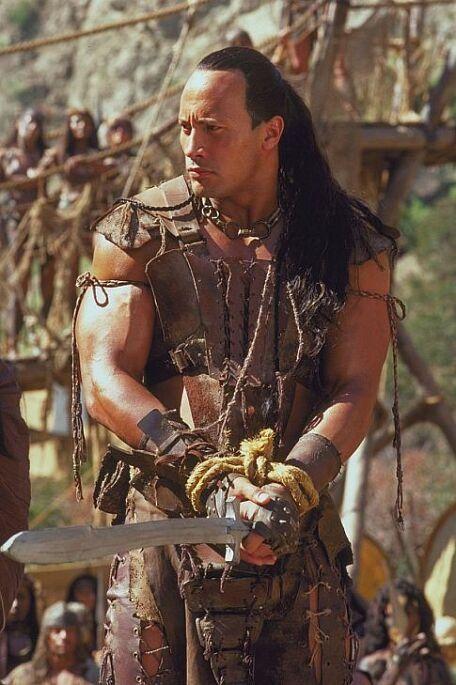 Still of Dwayne Johnson in The Scorpion King