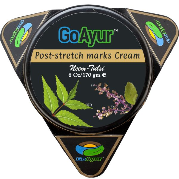 Get rid of stretch marks on thighs and stomach with out natural stretch marks removal cream @ GoAyur.com . It will reduce appearence of old or new stretch marks while moisturizing your dry skin with herbal neem tulsi fragrance.