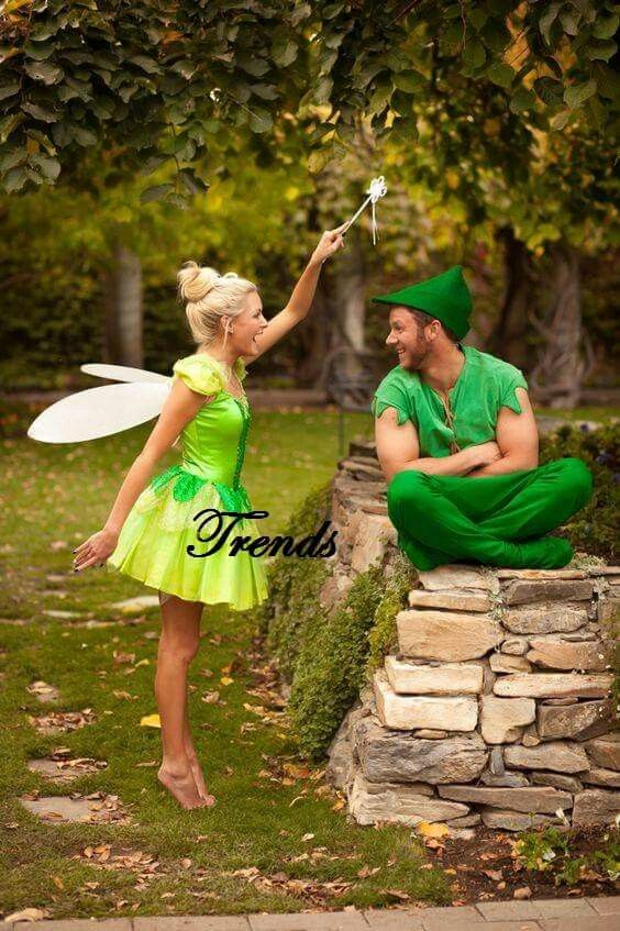 Peter pan and tinker bell