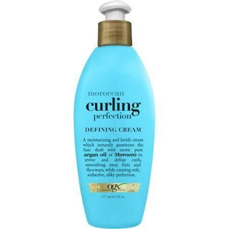 OGX Moroccan Curling Perfection Defining Cream is a moisturizing cream which instantly penetrates the hair shaft. Use this product to revive and define curls, s