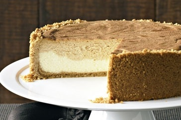 Layered Caramel Cheesecake Recipe - Taste.com.au