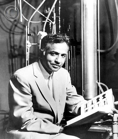 Dr Subrahmanyan Chandrasekhar (1910 - 1995) Indian physicist, Nobel Prize winner in physics, the Chandra space telescope is named for him