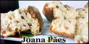 Joana Pães: Panettone caseiro - com suco de laranja e raspas de frutas