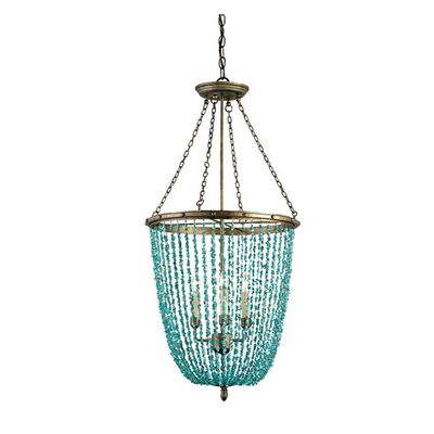 cupertino and turquoise three light lawrence turquoise chandelier - Turquoise Chandelier Light