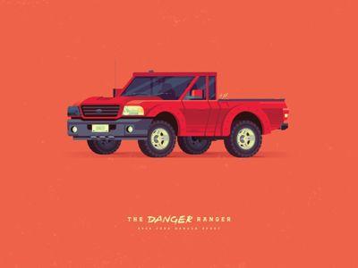 The Danger Ranger:   2008 Ford Ranger Sport
