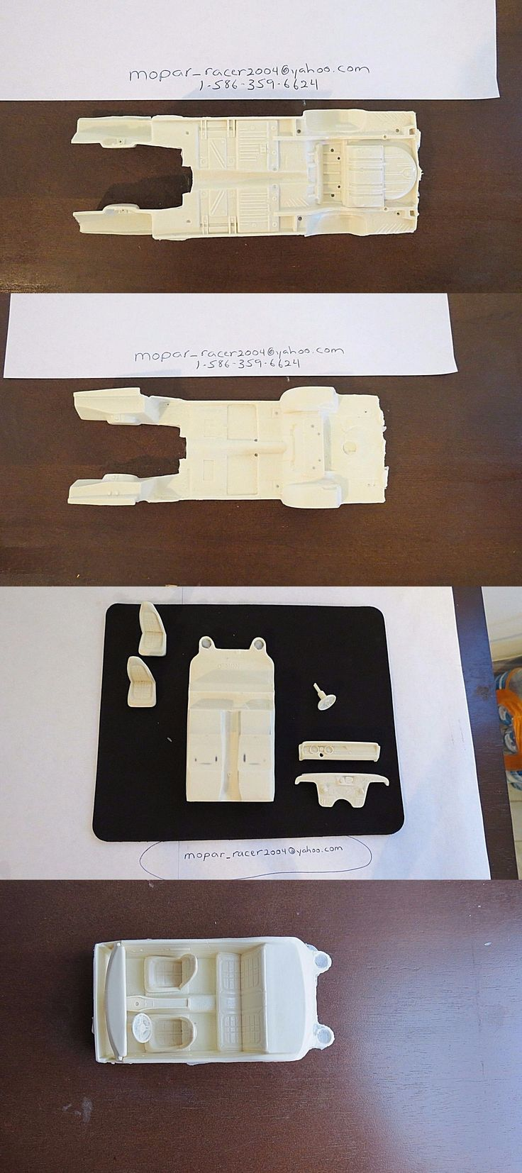 Parts 166798: 1 25 Scale Resin Cast 1971 Dodge Demon Chassis Plate And Full Interior -> BUY IT NOW ONLY: $35.99 on eBay!