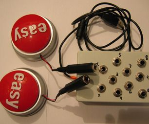Easy Button Musical Interface : Use the Button!