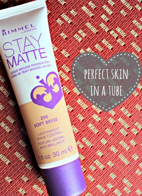Best stuff ever! Rimmel London Stay Matte Foundation $4.99