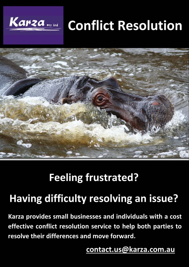 Karza provides small businesses and individuals with a cost effective conflict resolution service to help both parties to resolve their differences and move forward.