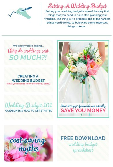 Wedding Budget Things You MUST Know Before Setting Your