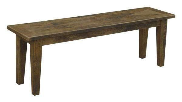 Parquetry Bench Seats