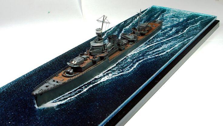 Gemi Modelleri: Tamiya 1/700 IJN YUBARI