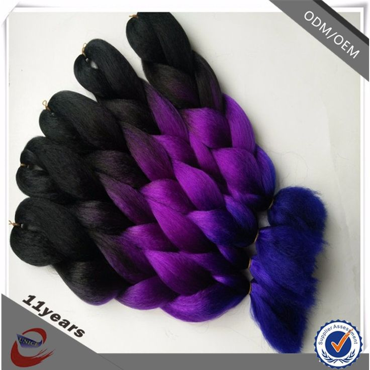 Afro Hair Products Synthetic Hair Jumbo Braid Ombre Color Jumbo Braiding Hair for Crochet Braids Twist, View ombre color jumbo braiding hair, Eunice Product Details from Yuzhou Eunice Hair Products Co., Ltd. on Alibaba.com