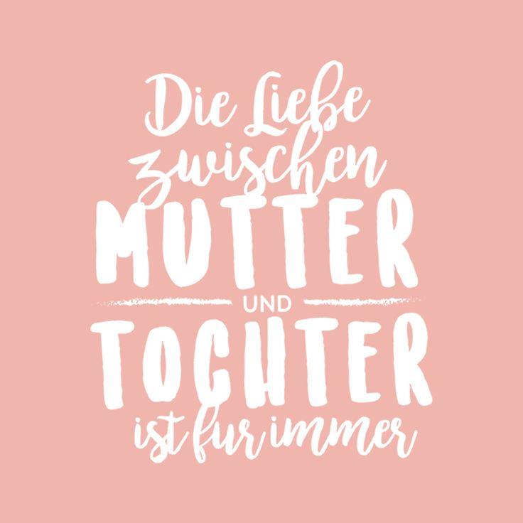 Die Liebe zwischen Mutter und Tochter ist für immer ❤️