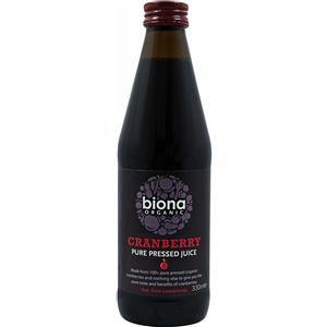 Biona Organic Succo di Mirtillo Rosso Puro 330ml a soli 4,83€